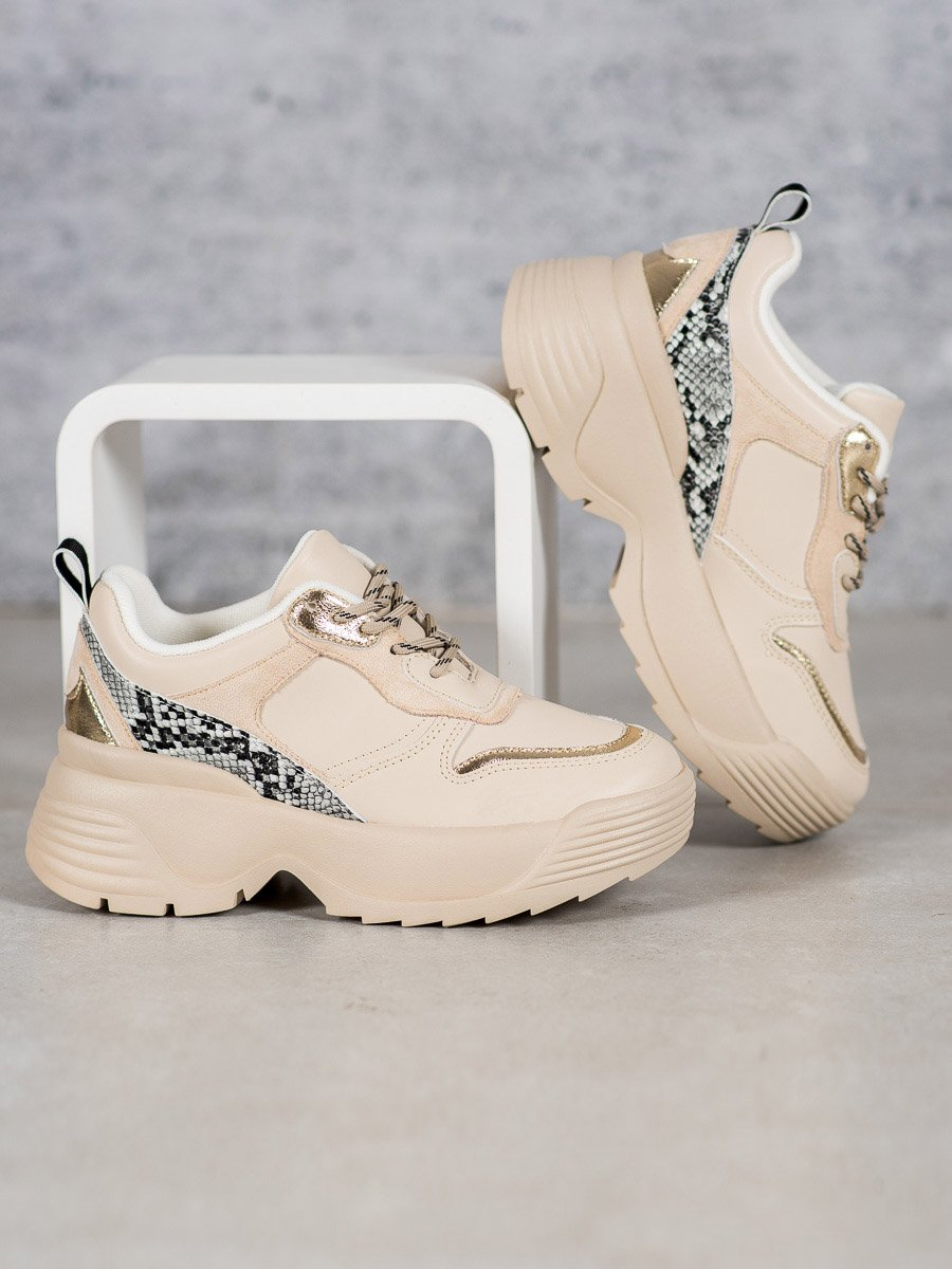 BEŻOWE SNEAKERSY VICES